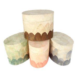 Biodegradable Oval Urn