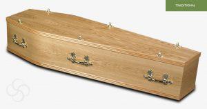 Hayfield Veneer Coffin