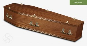 The Forest Veneer Coffin