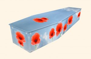 Poppies on Sky Coffin
