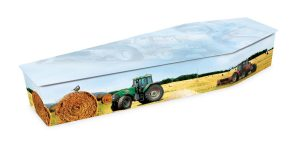 Tractor Coffin