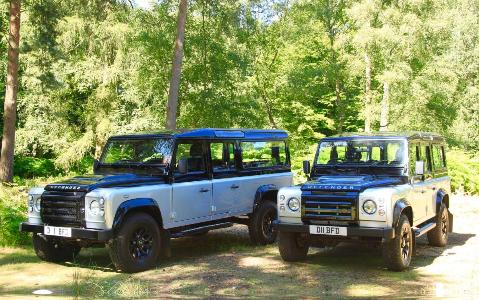 Land Rover hearse and limousine